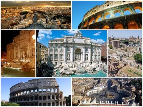 Η Αιώνια Πόλη - Αξιοθέατα στην Ρώμη.