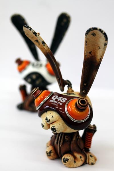 michihiro matsuoka esculturas metal animais steampunk