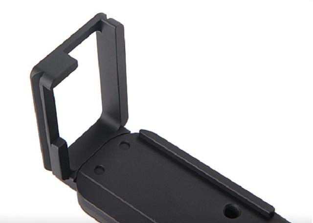 Sunwayfoto PFL-XT1R vertical plate detail
