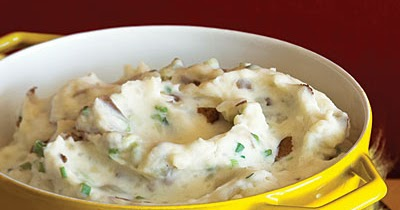 Cook Like Jake! : Red Skin Mashed Potatoes with Green Onion