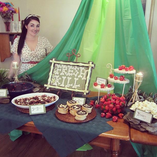 Lola Tangled Warrior Cat Birthday Party
