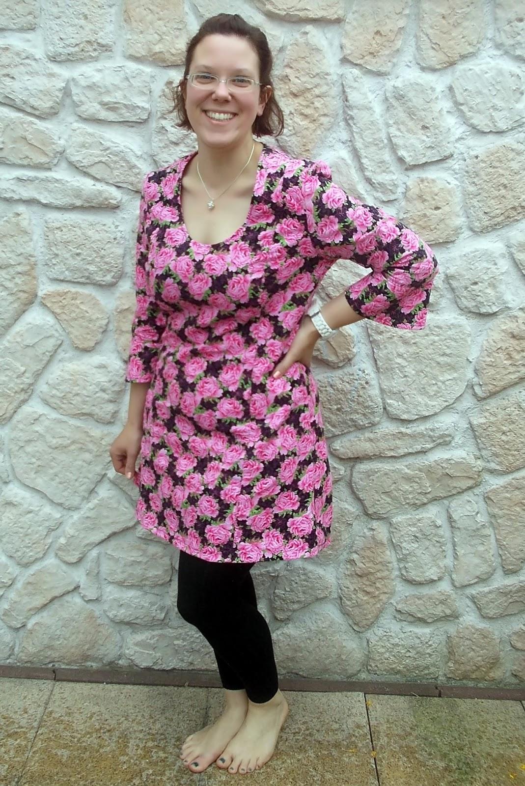 K(l)eine Kindersachen - frisch genäht: Tunika-Kleid Svea für mich