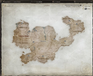 Map Levens Leveling di Game Echo Of Soul Indonesia