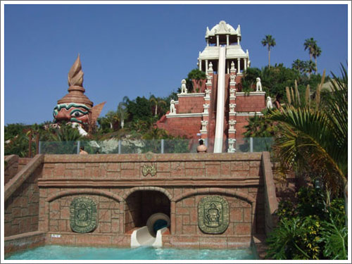 tower of power at siam park