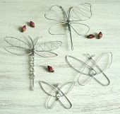 Gammal modell Trollslända Fjärilar
