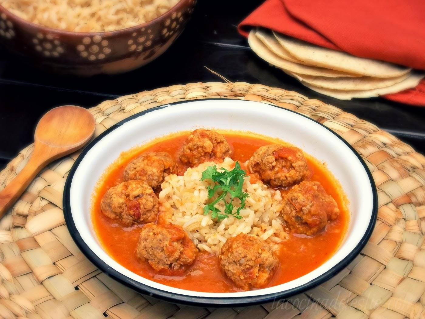 Mexican Pork Meatballs In Tomato-Chipotle Chile Sauce Recipes ...