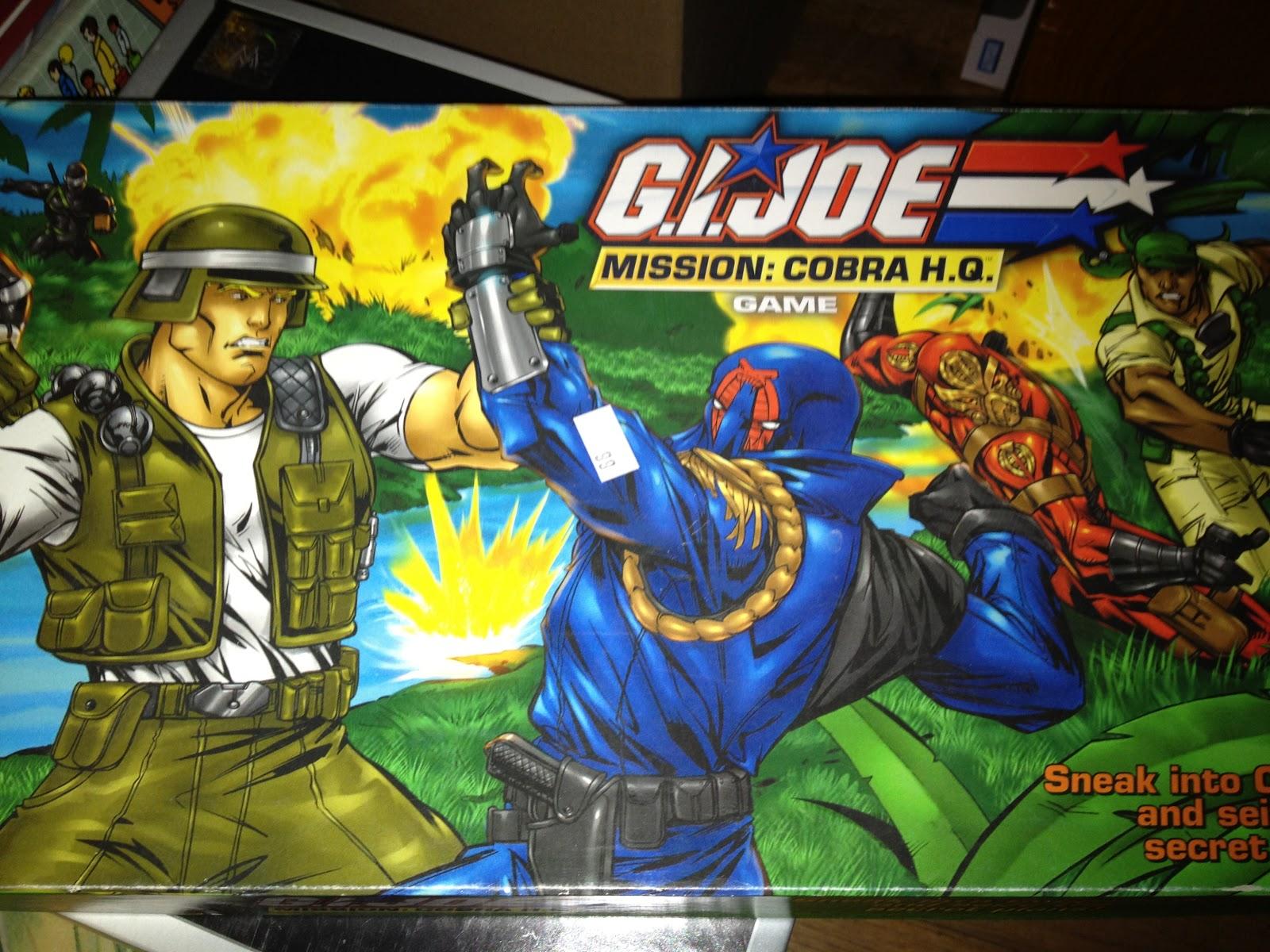 Flip the table episode 5 gi joe mission cobra hq for Cobra mission