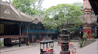 Erwang Temple at Dujiangyan Irrigation System