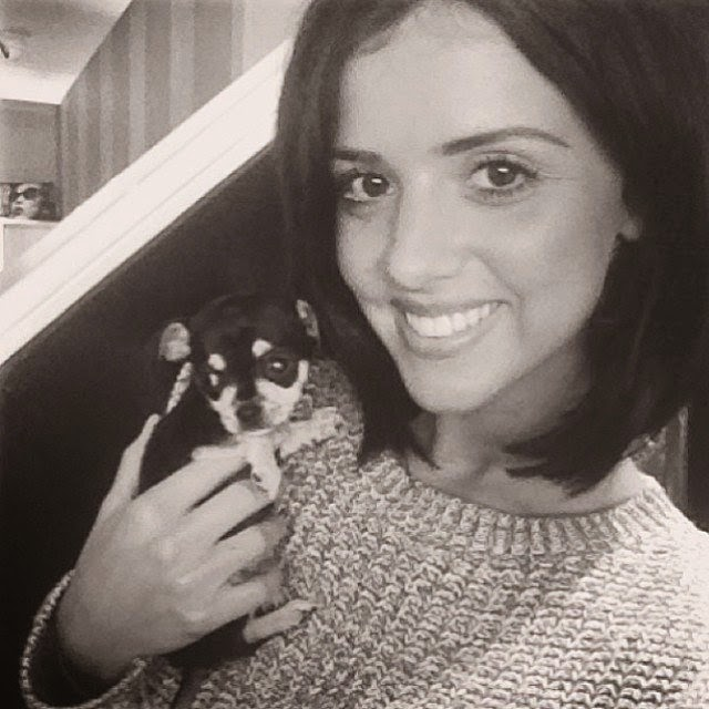 Lucy Mecklenburgh shares a few images on her Instagram account