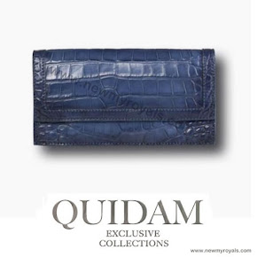 Crown Princess Mary of Style QUIDAM Alligator Clutch
