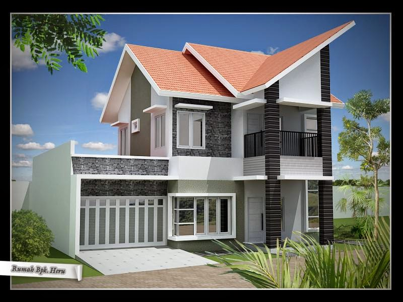 model atap rumah minimalis 2 lantai cari inspirasi rumah
