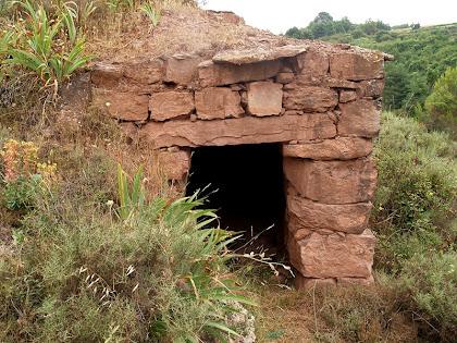 La segona barraca del Serrat del Moro