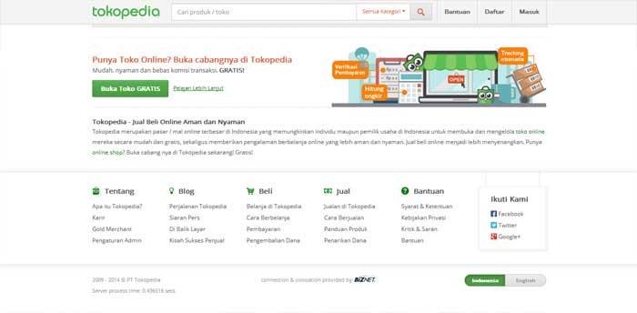 Situs Jual Beli Online Tokopedia