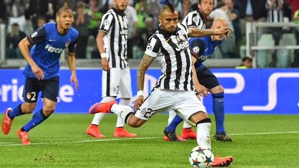 Juventus 1-0 As Monaco Champions League