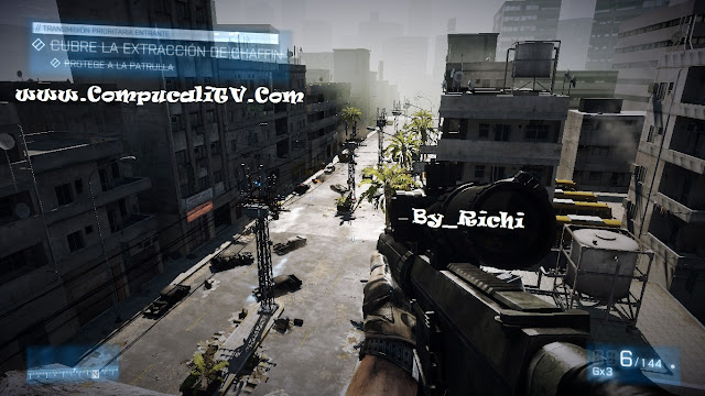 Capturas Battlefield 3 Realoded Full 2011 Estreno