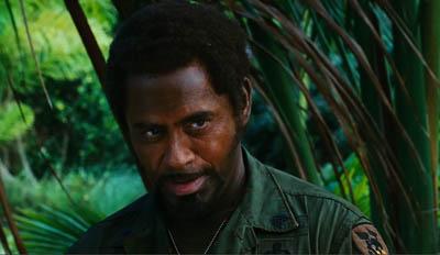 Robert Downey Jr - Kirk Lazarus   Jaja w tropikach   2008 Robert Downey Jr Blackface