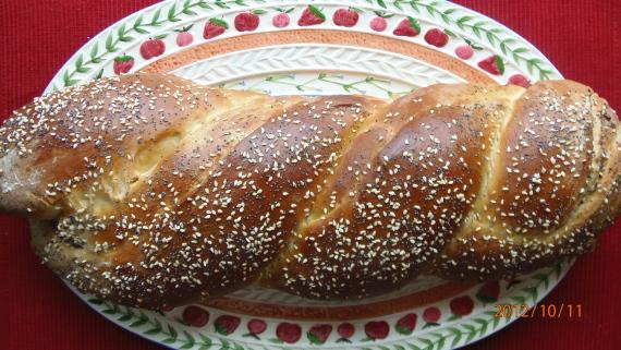 Poppy, Sesame Seed Challah Recipe