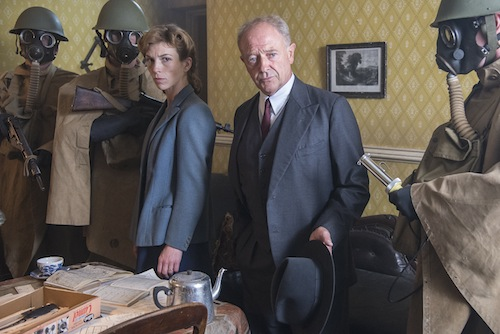 Foyle's War series 8, Samantha and Foyle