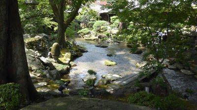 名勝庭園の写真