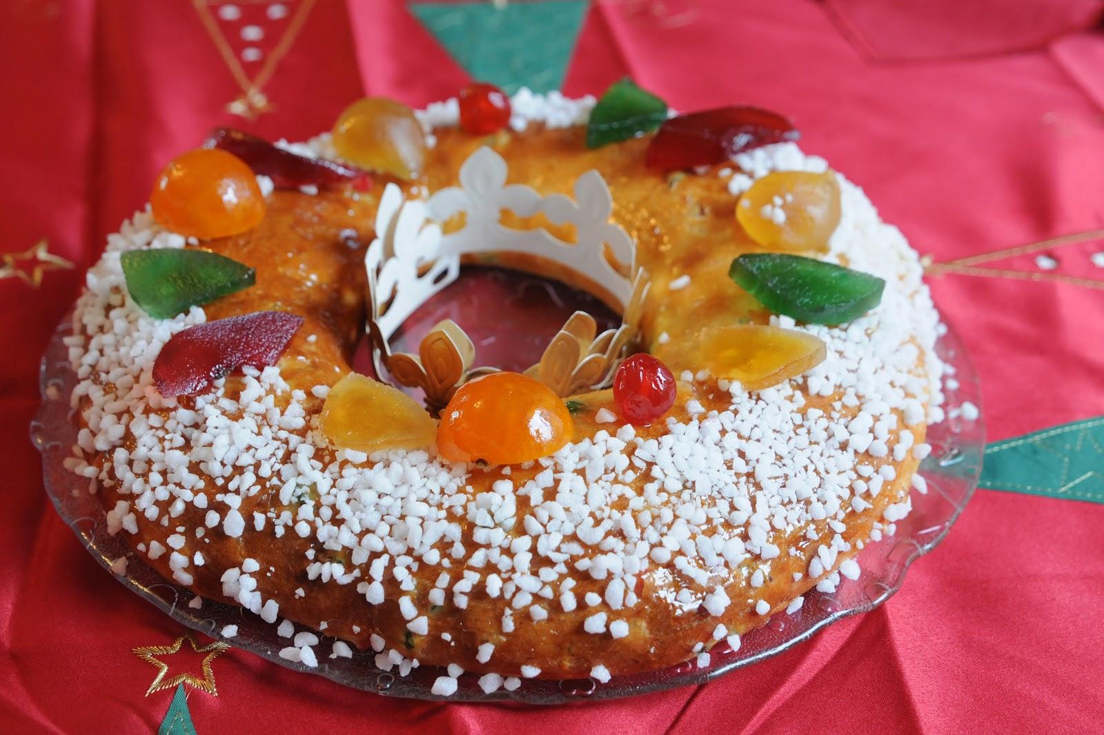 Gâteau des rois provençal ou brioche des rois