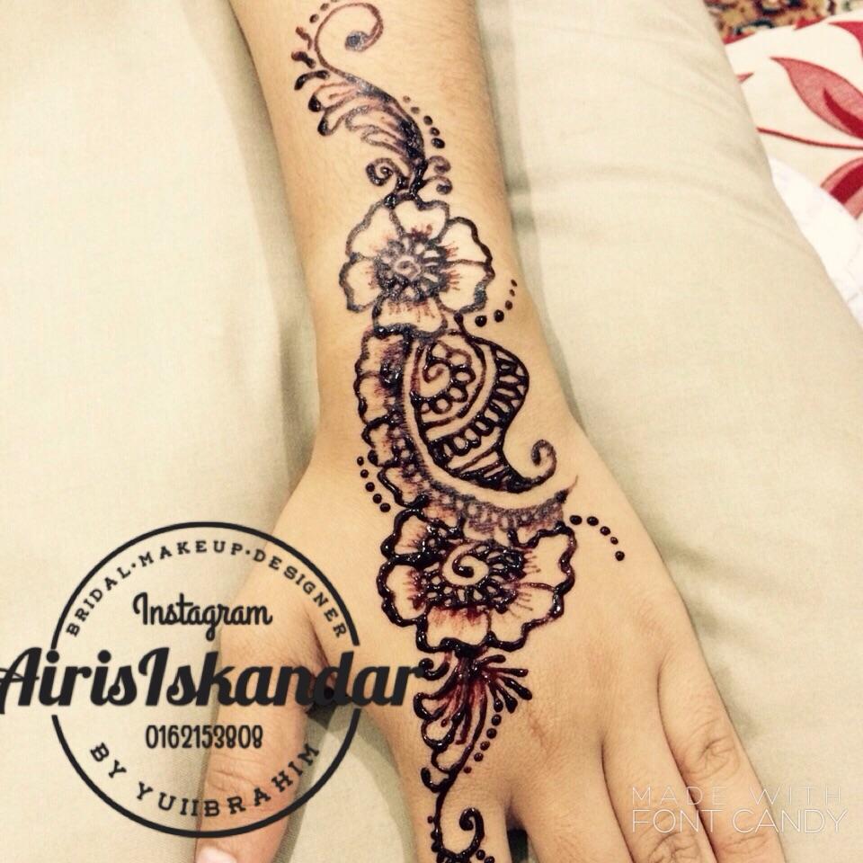 Airisiskandarcom Inai Henna Pengantin Kota Bharu Kelantan