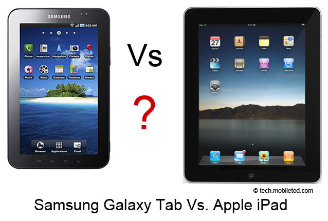 galaxy tab vs ipad the samsung galaxy tab tablet computer is hitting ...