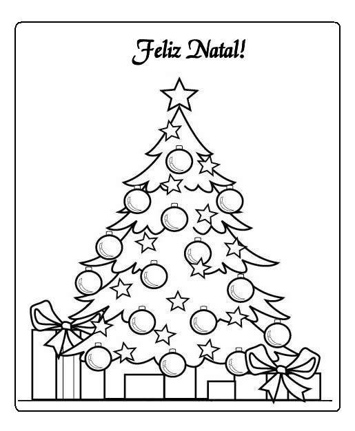 Sonhando Com Cores Natal árvores De Natal Para Colorir
