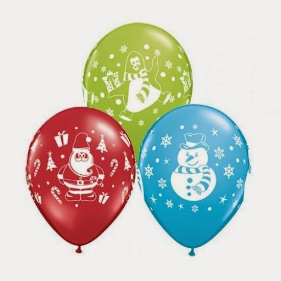 Fun 39 n 39 frolic 5 diy balloon decoration ideas for christmas for Water balloon christmas decorations