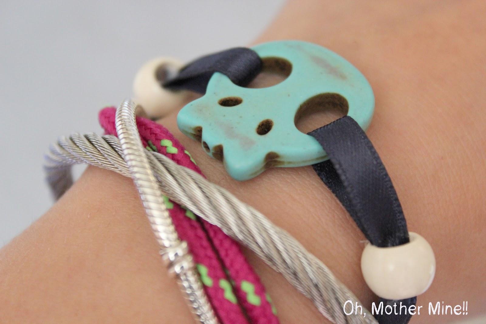 Cómo hacer pulseras DIY / How to make bracelets DIY