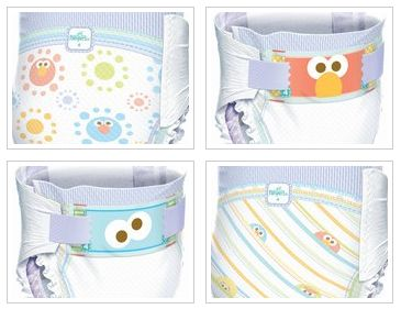 Pampers Cruisers Get A Makeover: Cute Sesame Street ...