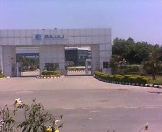 Bajaj Auto plant Rudrapur,Pantnagar Sidcul Uttarakhand India