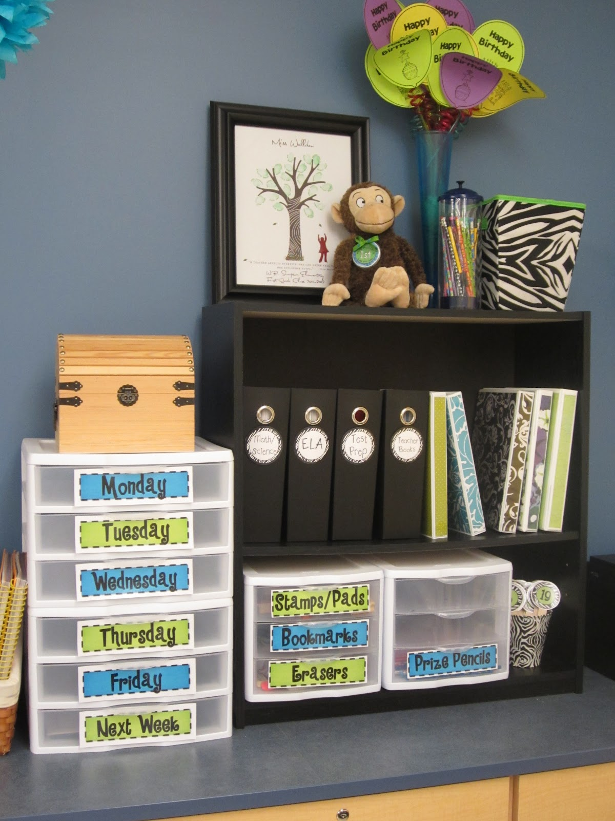 Classroom Ideas Organization : The creative chalkboard classroom tour pictures galore
