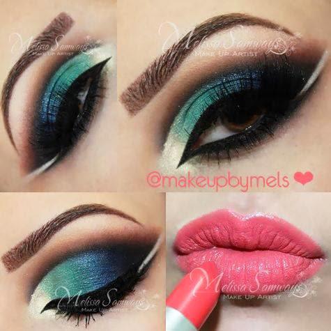 Tutorial de Maquiagem por Melissa Samways