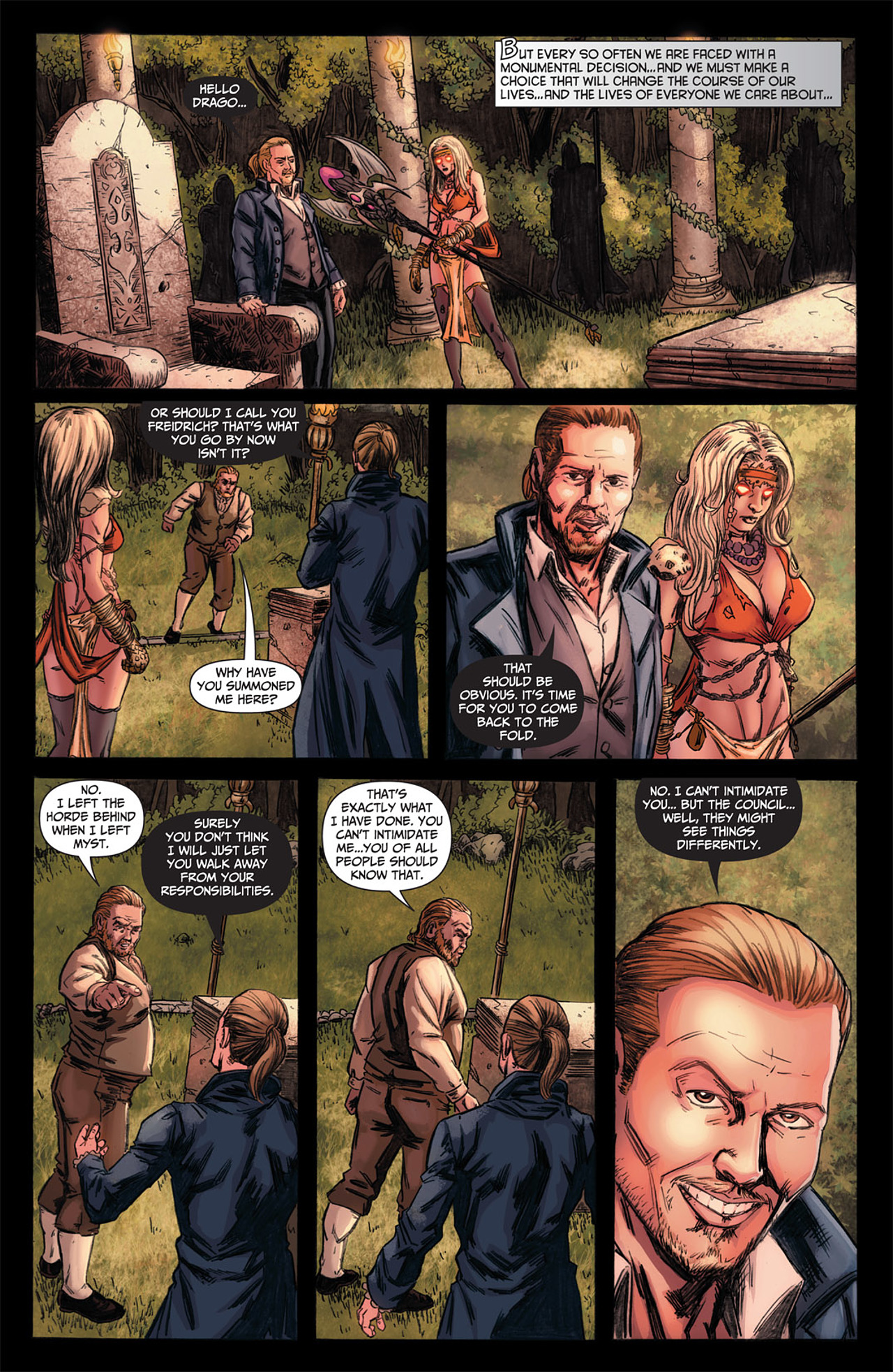 Grimm Fairy Tales (2005) Issue #50 #53 - English 4