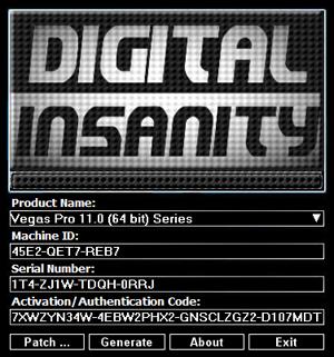 sony vegas 11 keygen free download
