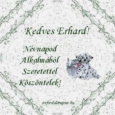 Erhard névnap