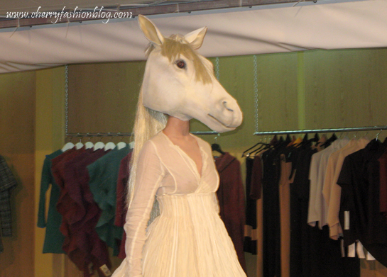 Edite Treija Collection, Riga Fashion Mood, Latvian designers, Horse head, Latvian Fashion