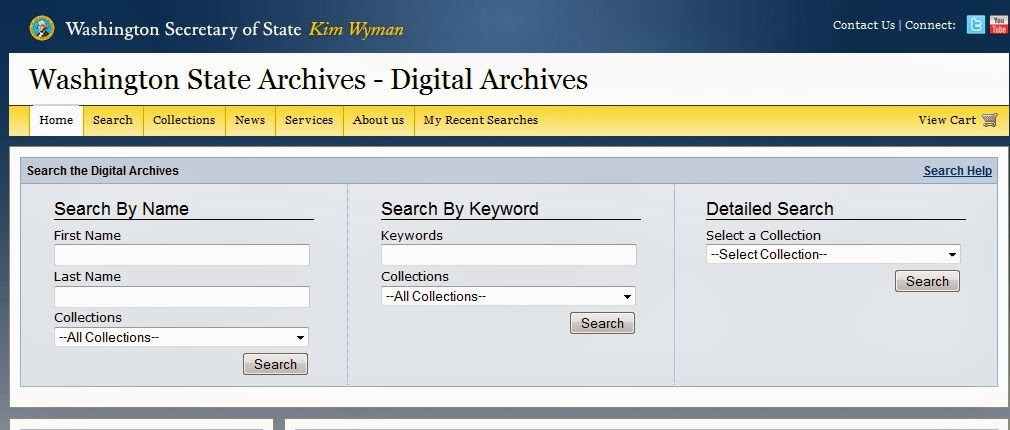 http://www.digitalarchives.wa.gov/Home