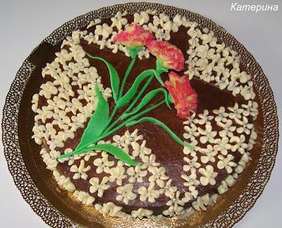 Торт несложный к празднику и фото