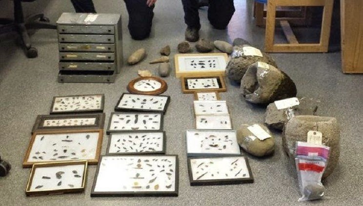 Oregon police seize Native American relics headed for black market