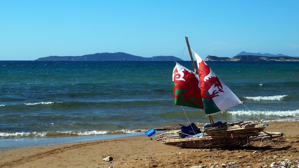 Strand von Arillas auf Korfu