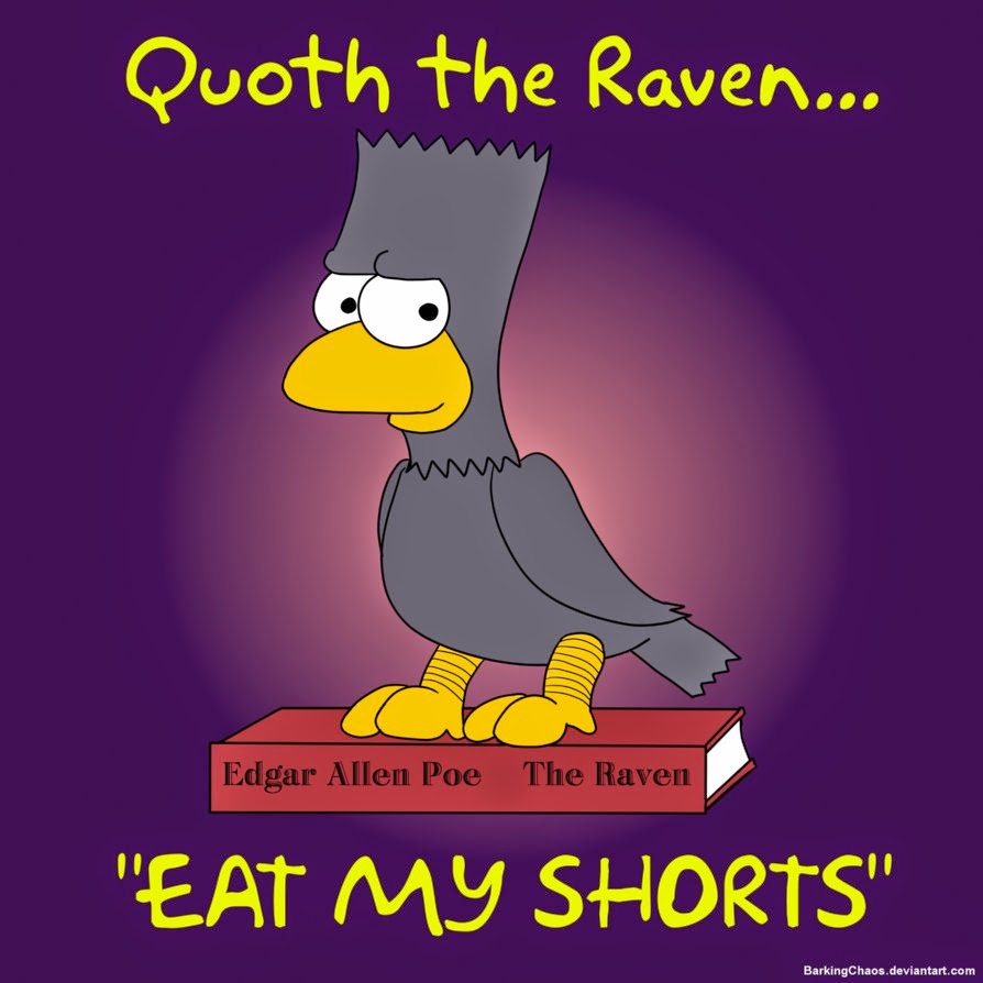 Simpson 'Quoth the Raven' Cover Image