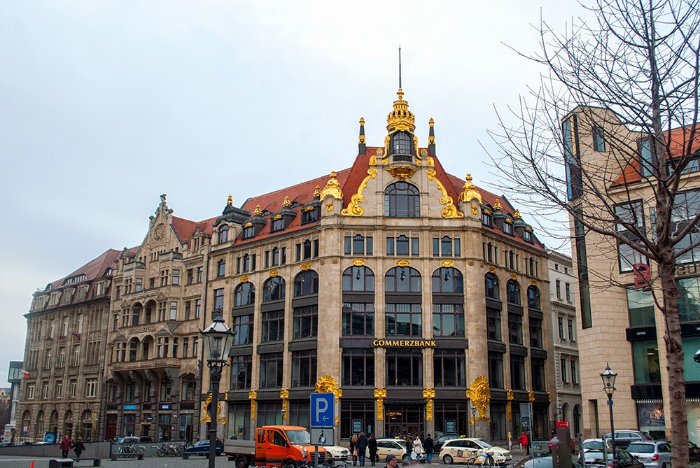 Leipzig Commerzbank architecture