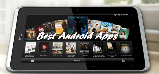 HTC Flyer Best Android Apps