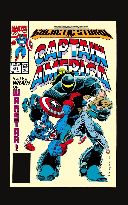 Captain America (1968) Issue #398 #331 - English 1