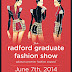 EVENT UPDATE: RADFORD UNIVERSITY GRADUATE FASHION SHOW -JUNE 7 @ MOVENPICK