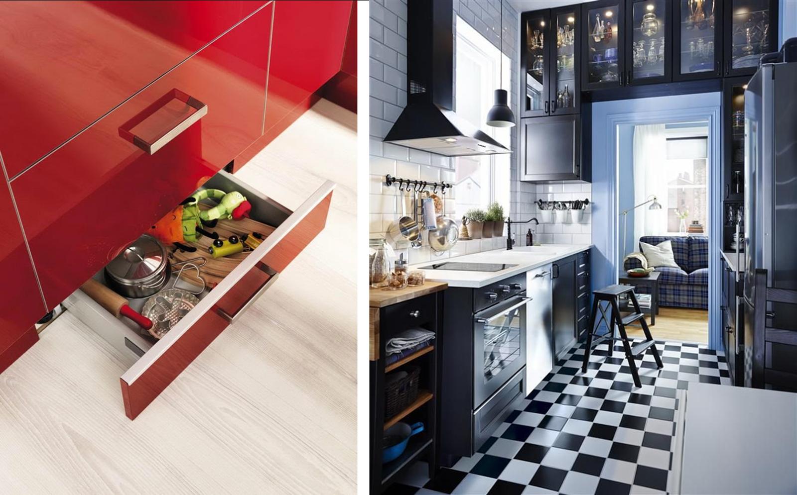Muebles para cocinas peque as fotos for Ideas de muebles para cocinas pequenas