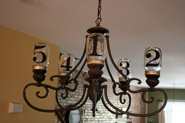 Numbered Light  Fixtures