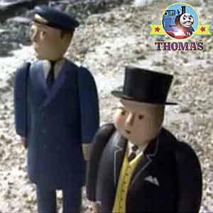 Sodor Fat Controller Train Thomas and the toy shop stories Sir Topham Hatt Henry the tank engine