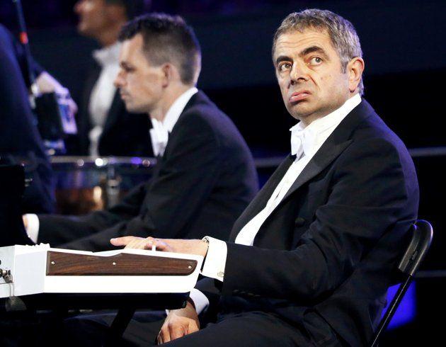 Mr. Bean na abertura dos Jogos Olímpicos de Londres